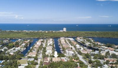 1421 Bayview Dr, Fort Lauderdale, FL 33304 3D Model